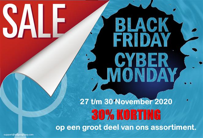 Black friday Cyber Monday actie 2020
